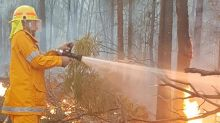 Home lost in fast-moving Queensland fire