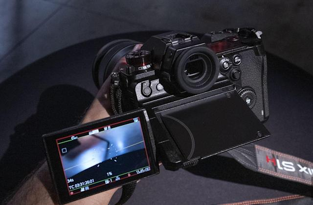 Panasonic's S1H is the pinnacle of mirrorless video, for a price