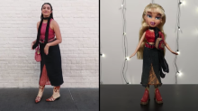 Would you dress up as a Bratz doll? This woman did for 4 days