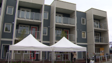 Calgary's first affordable housing project in 5 years opens in Crescent Heights
