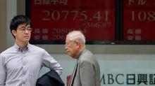 La Bolsa de Tokio sigue subiendo, beneficiada hoy por la depreciacíon del yen