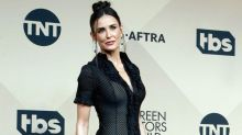 Demi Moore Shopped Her Closet And Wore A Dress From 2003 To The SAG Awards