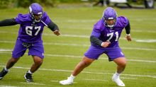 Vikings rookie tackle Christian Darrisaw seeking all the advice he can get in adjusting to NFL