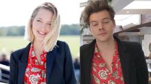 Harry Styles and Rumored GF Tess Ward Wear the Same Shirt, Which of Course Means They're Practically Married