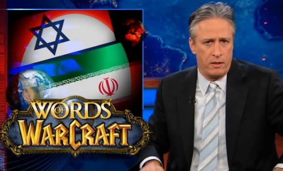 Leeroy Jenkins appears on The Daily Show