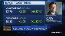 CBS and Viacom reunited? CNBC's David Faber breaks it dow...