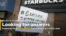 Starbucks faces image crisis after arrest of 2 black men