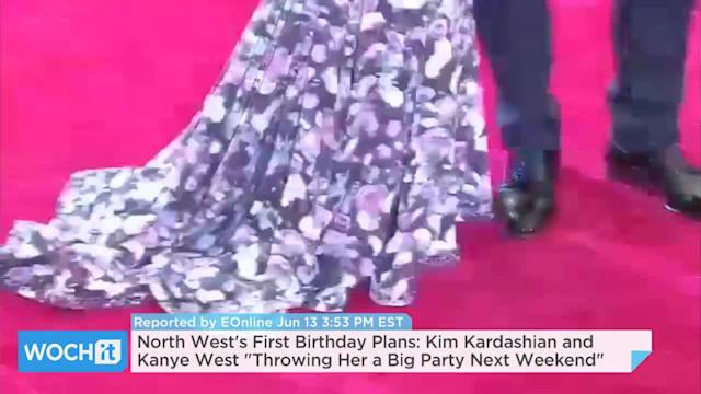 North West's First Birthday Plans: Kim Kardashian And Kanye West