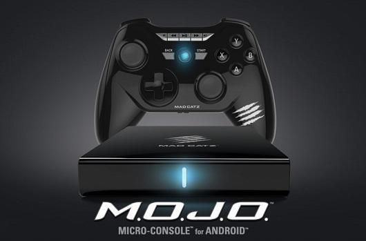Mad Catz microconsole MOJO boots up pre-orders for $250, ships in December