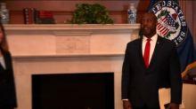 Sen. Scott comments on Trump and white supremacy