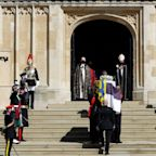 Prince Philip's funeral in pictures: Queen bids farewell to her husband of 73 years
