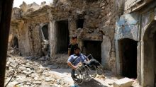 Mosul war victim struggles to make ends meet through pandemic