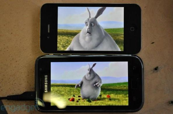 iPhone 4 vs. Galaxy S, part deux: HD video playback (video)