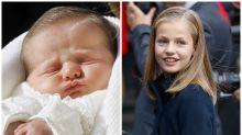 La princesa Leonor cumple 13 años: las imágenes de su vida