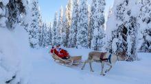 Is Santa's sleigh road legal?