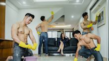 Renovation platform offers 'hunky men cleaning services' for one-weekend only