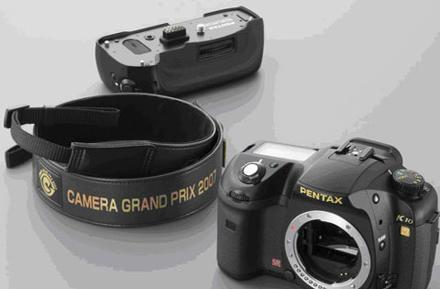 Pentax celebrates with gold-accented K10D GP DSLR