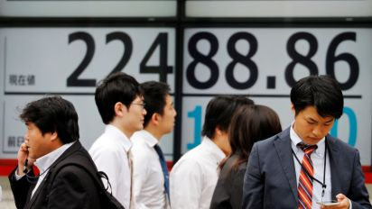 Asia shares echo Wall Street cheer, China muted