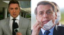 Record vai afastar repórter que entrevistou Bolsonaro com covid-19