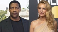 Denzel Washington, Julia Roberts to Star in Drama 'Leave the World Behind' for Netflix