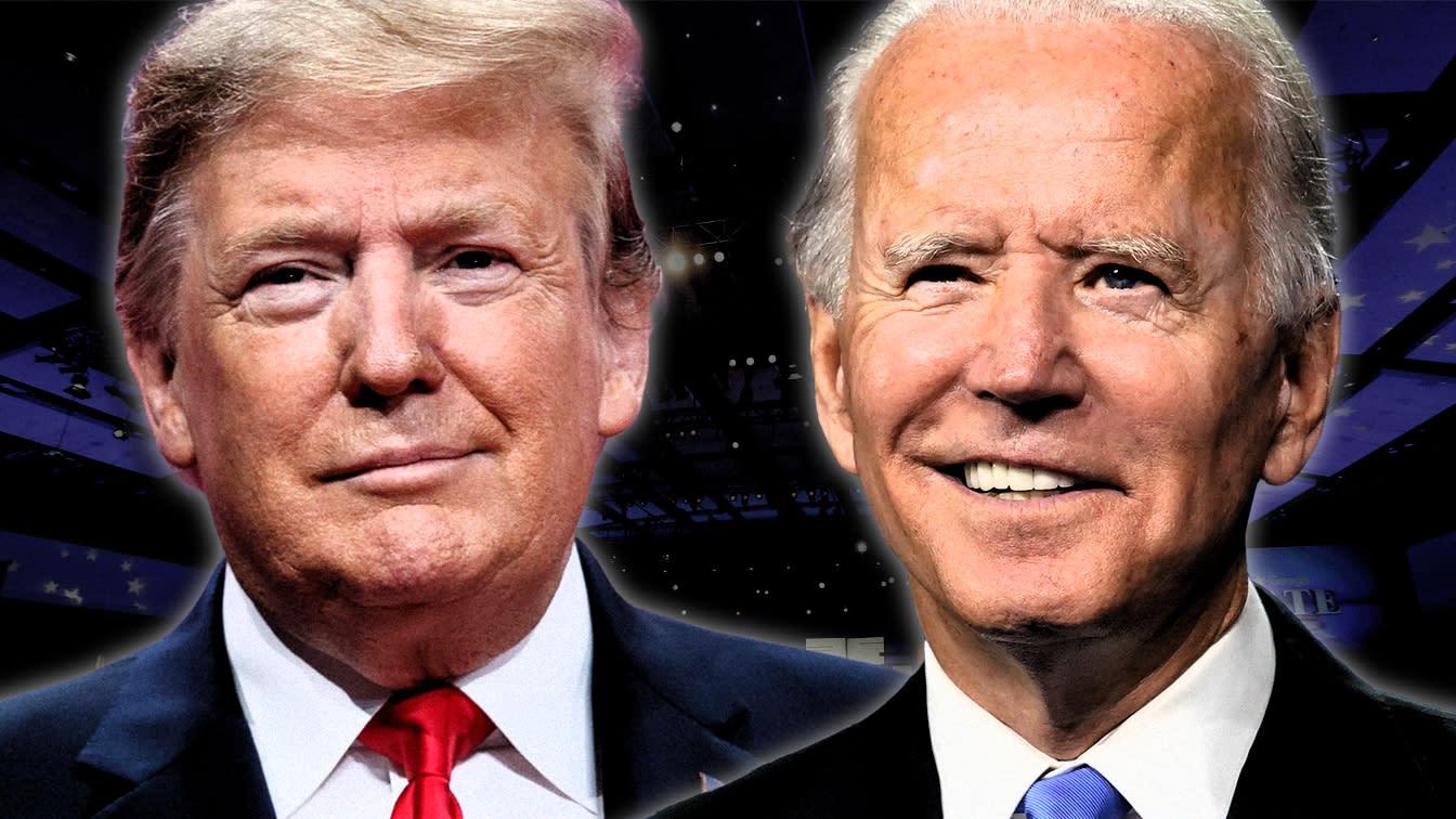Trump and Biden butt heads in final debate - cover