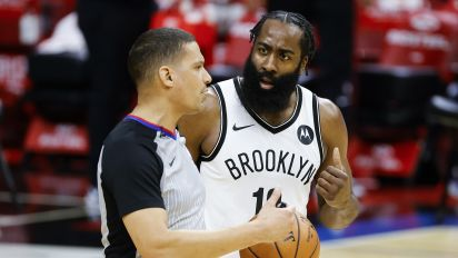 Harden might not like NBA's new foul rules
