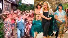 Un pueblito inglés imita el 'Dancing Queen' de Meryl Streep en Mamma Mia! ¡Y nos encanta!'