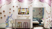Si amas los unicornios esta casa es tu alojamiento ideal