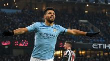 Aguero treble gets Manchester City back on track as Manchester United eye Sanchez