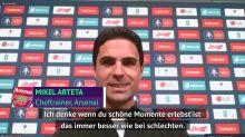 Arteta zuversichtlich das Aubameyang bei Arsenal bleiben wird