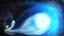 A Black Hole Threw a Star Out of the Milky Way Galaxy