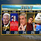 Calendar: Week of July 22
