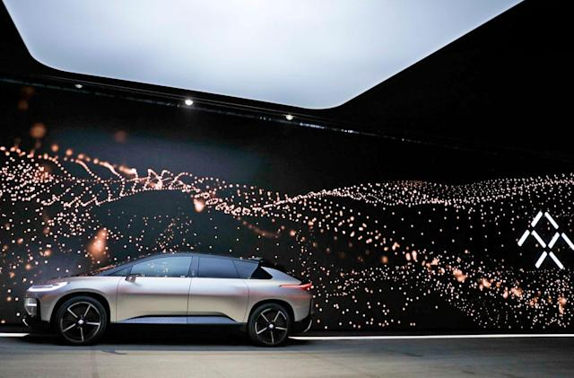 Faraday Future comes crawling back to its main investor