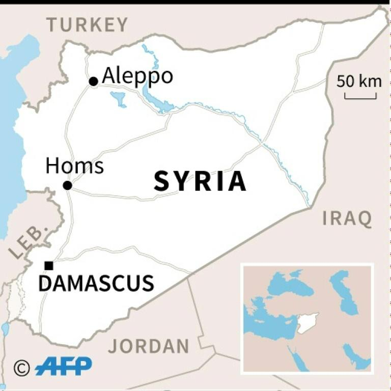 Syrian air defence intercepts missile attack over Damascus