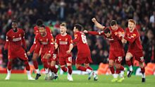 Liverpool edge Arsenal in penalty shootout after ten-goal thriller in the Carabao Cup