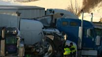 3 Dead, 50 Vehicles Wrecked on Ohio Turnpike