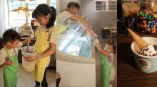 Igloo雪糕工作坊!小小雪糕店員自製新奇口味:花生醬煉奶多士、芒果糯米雪糕