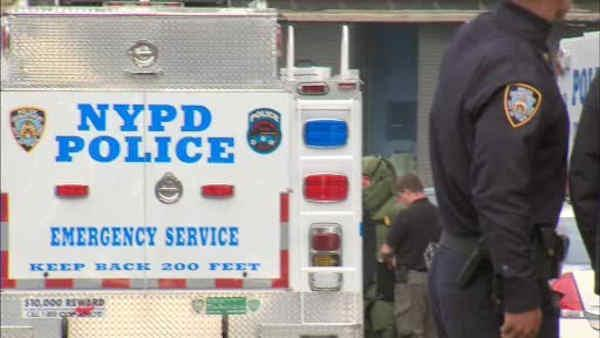 Police receive calls for numerous suspicious packages around New York City