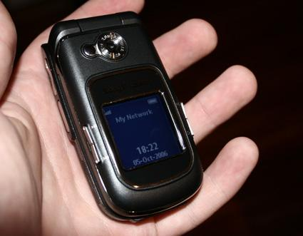 Hands-on with the Sony Ericsson Z710i