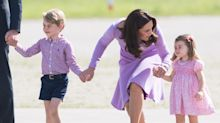Kate Middleton Took Her Oldest Kids for a Day Out