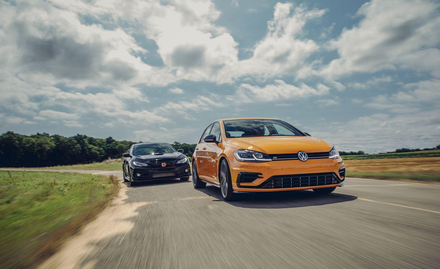 <p>Both the Civic Type R and the Golf R come fully equipped for battle at their base prices: $37,230 for the Honda and $41,365 for the VW.</p>