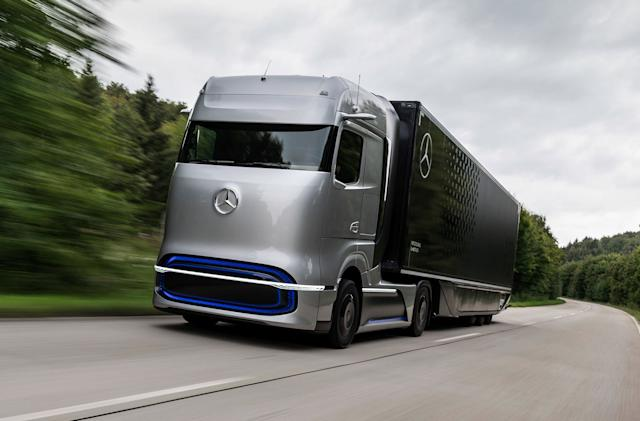 Daimler and Volvo team up to make fuel cells for trucks and generators