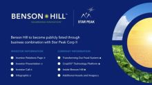 Benson Hill – Sustainable Food Technology Company Driving the Plant-Based Food Revolution – to Combine With Star Peak Corp II
