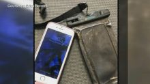 Diver reunites owner with iPhone he found at bottom of river