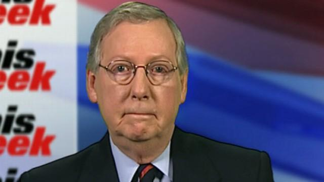 Sen. Mitch McConnell on 'This Week'