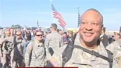Stockton Soldiers Return Home From Iraq
