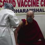 Exiled Dalai Lama receives COVID-19 vaccine