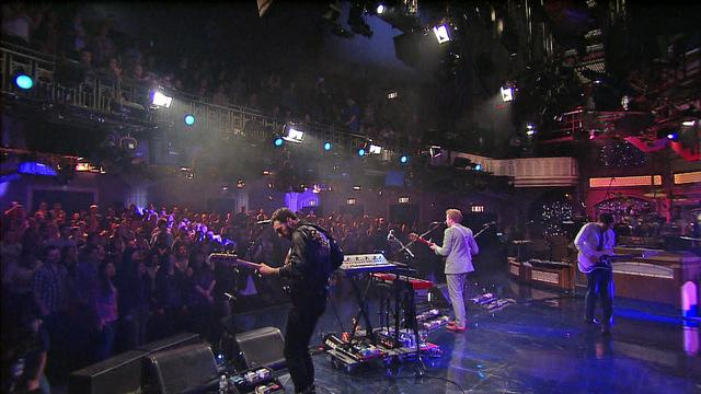 Live On Letterman - Two Door Cinema Club: Something Good Can Work