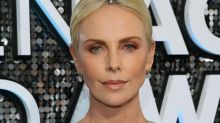 Charlize Theron wore a 3-carat Tiffany diamond bracelet in her hair to hide her roots at the SAG Awards