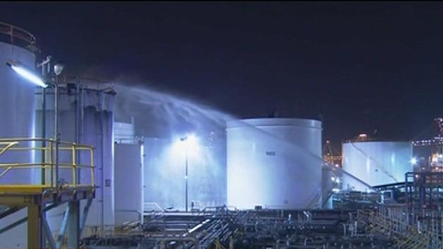Sydney oil refinery emergency